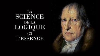 Bernard Bourgeois : Logique 2 : l'Effectivité hegelienne