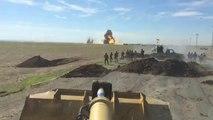 Des Peshmergas font exploser une voiture kamikaze de Daesh qui leur fonce dessus