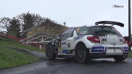 Rallye Lyon Charbonnières-Rhône - Etape 2 : le triplé de David Salanon !