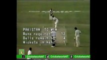 Abdul Qadir Best Batting Victory In Last Over For Pakistan Vs West Indies By Cricket World
