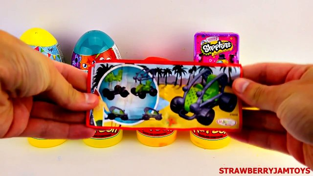 Toys Story - Peppa Pig Play Doh Shopkins Cars 2 Kinder Surprise Moshi Monsters - Surprise Egg