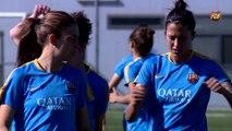 FCB Femenino: Declaraciones Xavi Llorens y Patri Guijarro, previa Collerense - Femení A [ESP]