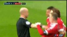 Romelu Lukaku Penalty MISS Everton 0 - 1 Manchester United FA Cup 23-4-2016