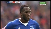 Romelu Lukaku Penalty Miss David De Gea Fantastic Save - Everton 0 - 1 MAnchester United (FA Cup) 23.04.2016