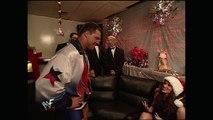 Triple H, Stephanie McMahon and Kurt Angle Backstage Segment