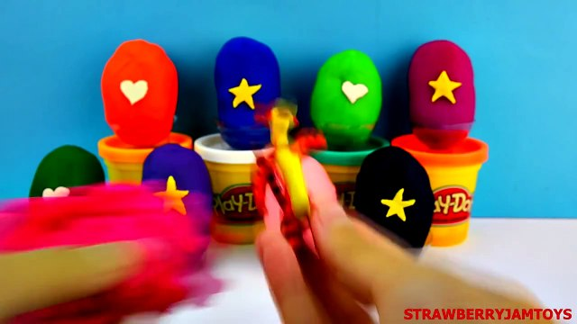 Toys Story - Peppa Pig Play Doh Shopkins LPS Spongebob Cars 2 TMNT Dora Tigger - Surprise Eggs