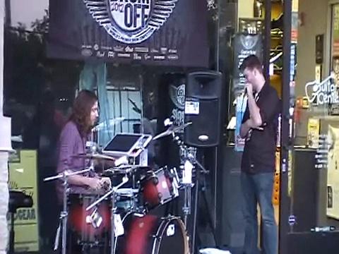 Ainsley Hubbard  – Guitar Center Drum Off – 2012