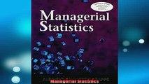 Downlaod Full PDF Free  Managerial Statistics Full Free
