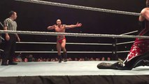 WWE Cesaro doing Rey Mysterio's 619 at WWE Live Event
