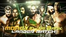 Roman Reigns vs Kane vs Orton vs Sheamus vs Ziggler vs Kofi Kingston vs Neville - Ladder Match - Money in the Bank 2015