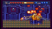 Sparkster Rocket Knight Adventures 2 Hard Mode Level 5 Part 2 of 2