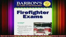 READ book  Barrons Firefighter Exams Barrons Firefighter Candidate Exams Full EBook