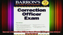 READ book  Barrons Correction Officer Exam Barrons Correction Officer Examination Full Free