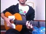 Cheb Khaled --- Rouhi Wahran ( Guitar Tutorial )