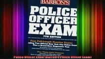 Free Full PDF Downlaod  Police Officer Exam Barrons Police Officer Exam Full Ebook Online Free