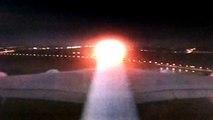 Airbus 380 takeoff at Kuala Lumpur international airport