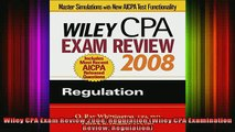 READ book  Wiley CPA Exam Review 2008 Regulation Wiley CPA Examination Review Regulation Full EBook
