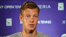 Sony Open Tennis Interview with Berdych 3-27