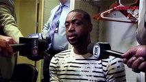 Dwyane Wade Postgame Interview | Heat vs Hornets | Game 3 | April 23, 2016 | 2016 NBA Playoffs