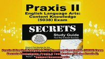 READ book  Praxis II English Language Arts Content Knowledge 5038 Exam Secrets Study Guide Praxis Full Ebook Online Free