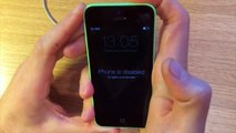 PASSWORD LOCKED iPod Touch - How to RESTORE a Disabled iPod