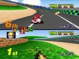 Mario Kart 64 2 Jugadores Gameplay