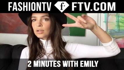 2 Minutes With Emily Ratajkowski for LOVE | FTV.com