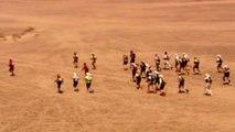 Former Barbarians Prop's Gruelling Desert Marathon