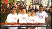 Lázaro Mazón premió a los ganadores del 55 Maratón Guadalupano en Acapulco