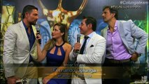 FERNANDO COLUNGA entrevista en Premios TVyNovelas Mejor Villano 230416 Univision