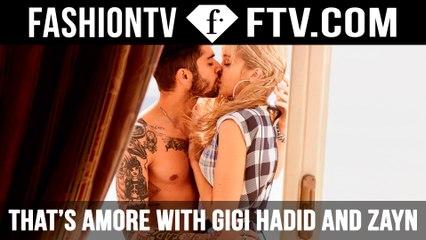 Behind The Scenes Gigi & Zayn in Love | FTV.com