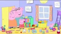Peppa Pig en Español   Temporada 4   Capitulo 8   El juego de los dias de lluvia
