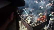 Jérusalem : des juifs ultra-orthodoxes célèbrent la Pâque juive