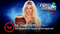 Wwe sports-Cesaro swings up and Charlotte takes a hit on WWE Power Rankings- April 23, 2016