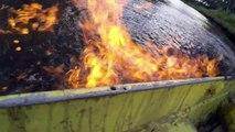 La rivière est en feu, il dénonce la fracturation hydraulique