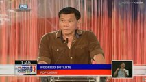 Duterte on the state of Philippines after his presidency