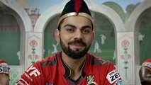 The Superb TV Ad of Virat Kohli , Chris Gayle and AB De Villiers