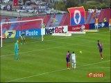 Mohamed Larbi Penalty Goal HD - Gazélec Ajaccio 3-1 Bastia - 24.04.2016 HD