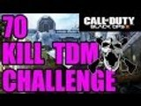 Call of Duty Black Ops 3 70 kill team death match challenge attempt