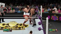WWF KING OF THE RING: 2nd Round Round | Match 77 | Earthquake VS Butch [WWE 2K16 Gameplay]