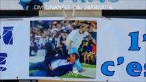 Om 1/nantes 1-echauffement-BIELSA-michel-breves du match-ultras-Marseille-24/04/2016