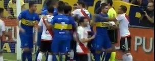 Expulsión de Pablo Pérez - Boca Juniors vs River Plate - 24-04-2016 Super Clásico 2016