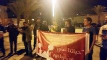 protestation les safiots contre centrale thermique - 36ans amdh