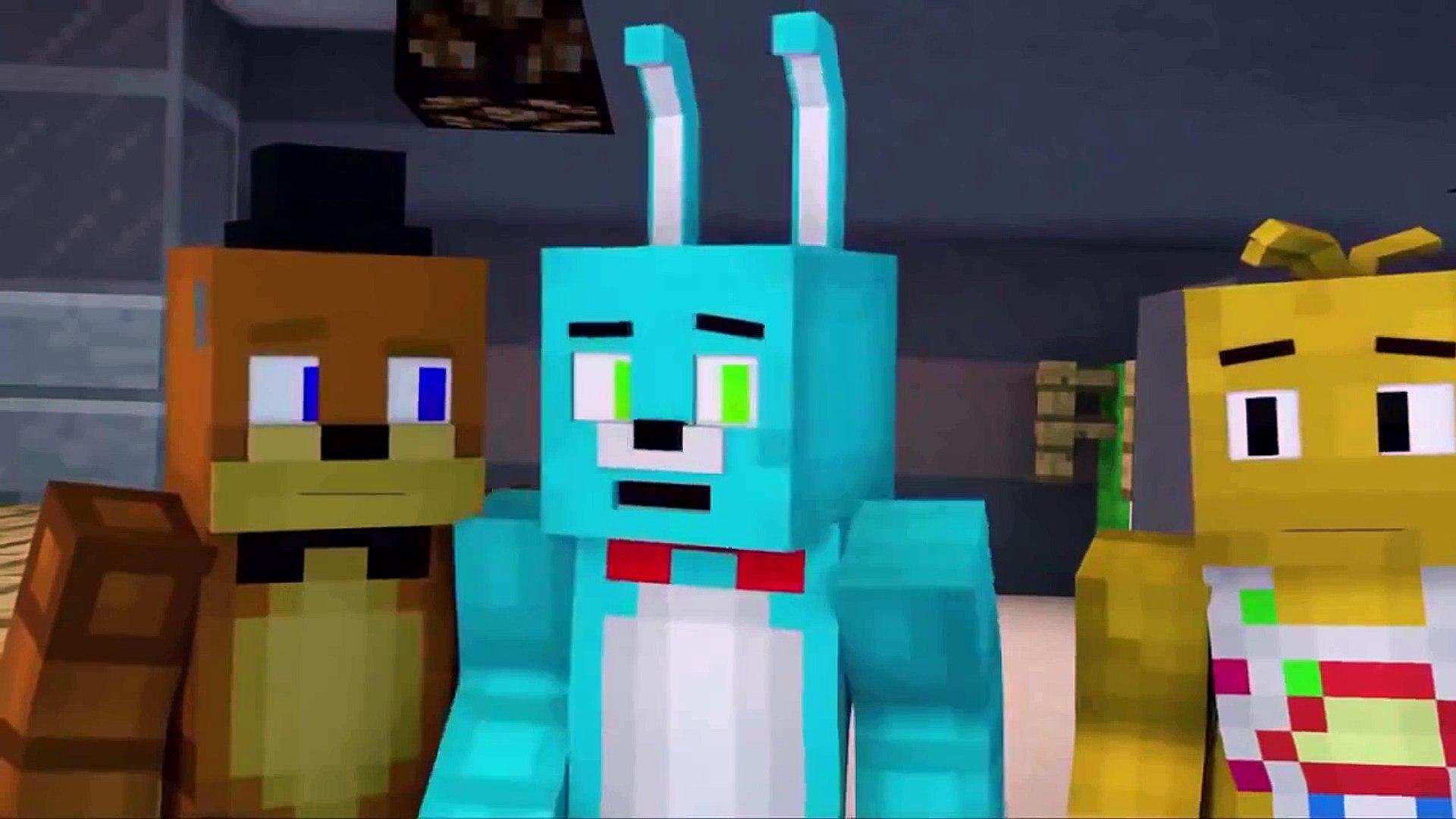 ВЫЖИТЬ В НОЧИ 5 НОЧЕЙ С ФРЕДДИ Survive The Night Minecraft Animation НА РУССКОМ