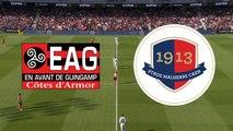Le résumé du match EA Guingamp - SMCaen