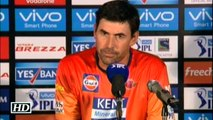 IPL 9 RPS vs KKR Pune Coach Gets Angry After Loss
