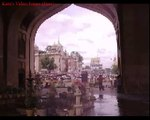 Birds eye view of Old city  roof of Charminar