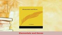 Download  Elementals and Devas  Read Online