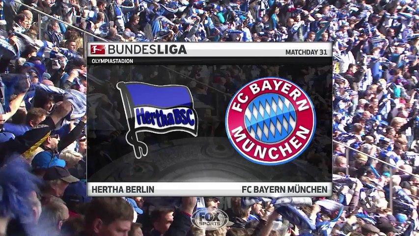 Highlight Hertha Berlin 0-2 Bayern Munich