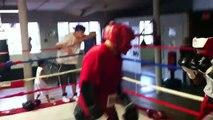 Miguel boxeo Elio Rojas